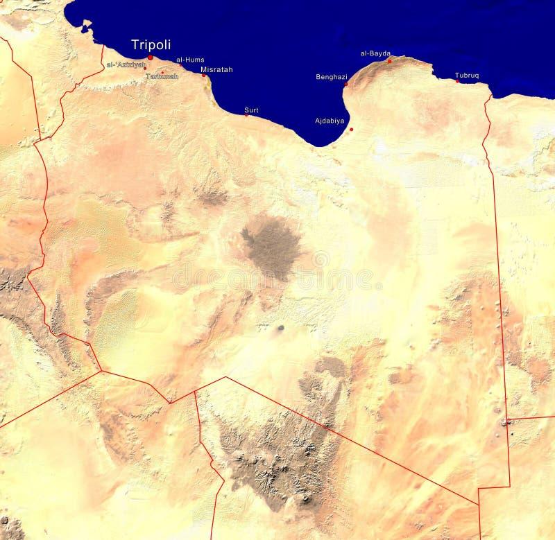 libya översikt arkivfoton