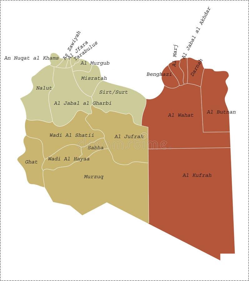 libya mapa