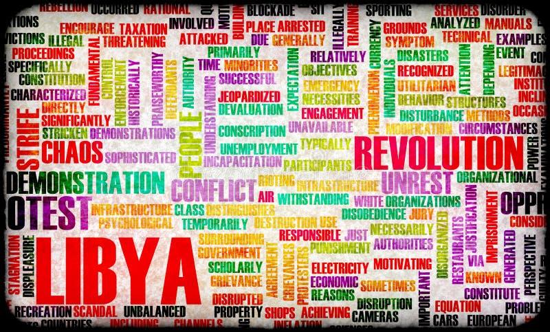 Libya Uprising vector illustration
