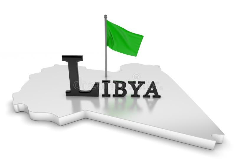 libya uznanie ilustracji