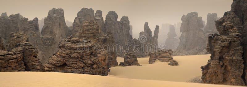 Libyan沙漠 免版税库存图片