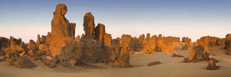 Libyan沙漠 库存照片