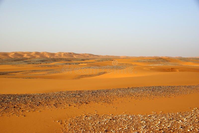libyan пустыни стоковое изображение rf