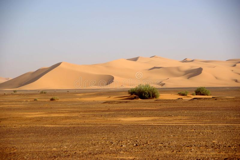 Libyan Desert Royalty Free Stock Photography