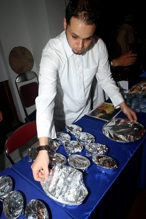Libysk mat arkivbilder