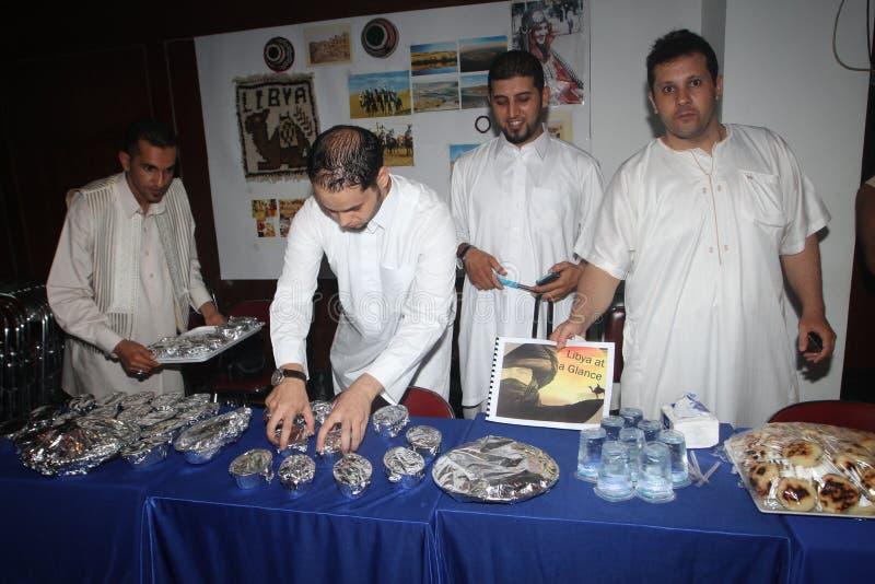 Libysk mat royaltyfri foto