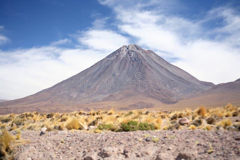 Licancabur Vulkan stockfotos