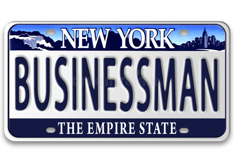 License plates royalty free illustration