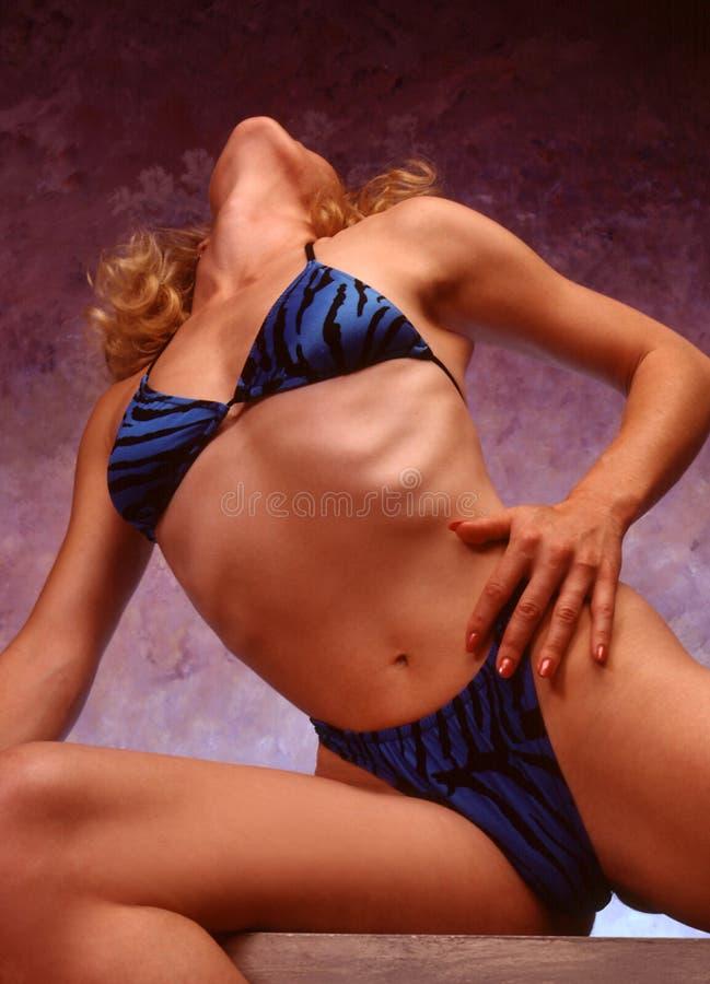 Lichaam In Bikini Royalty-vrije Stock Afbeeldingen