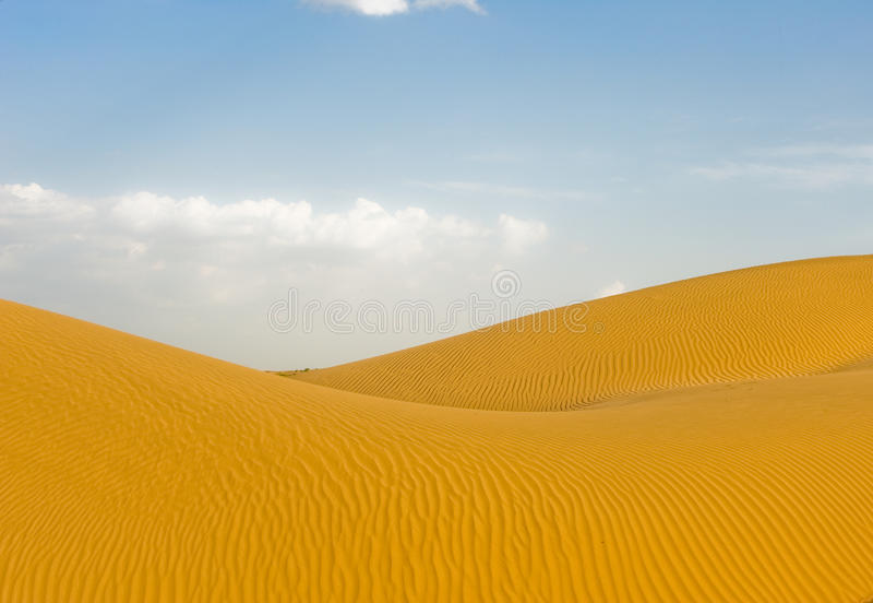 Lichaam van woestijn royalty-vrije stock fotografie