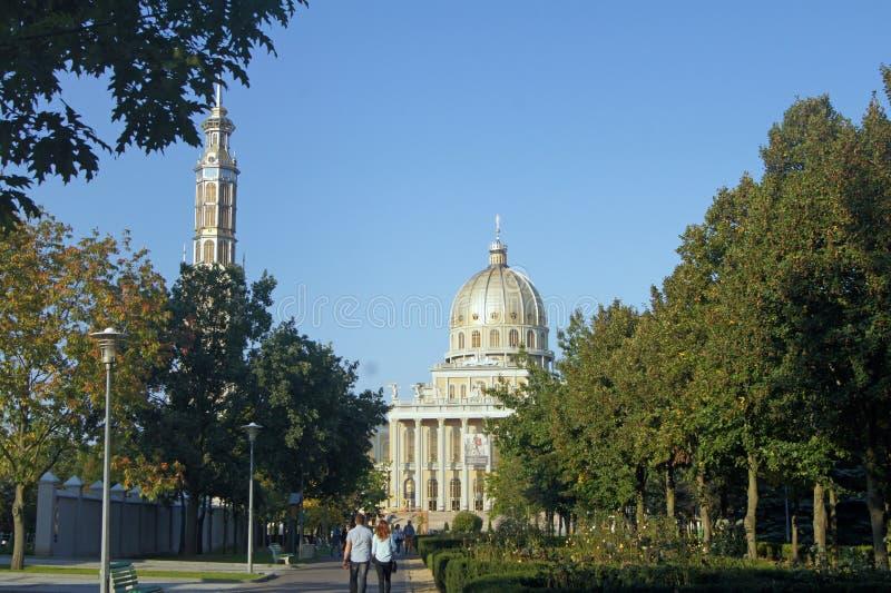 Lichen Basilica, Pologne image libre de droits