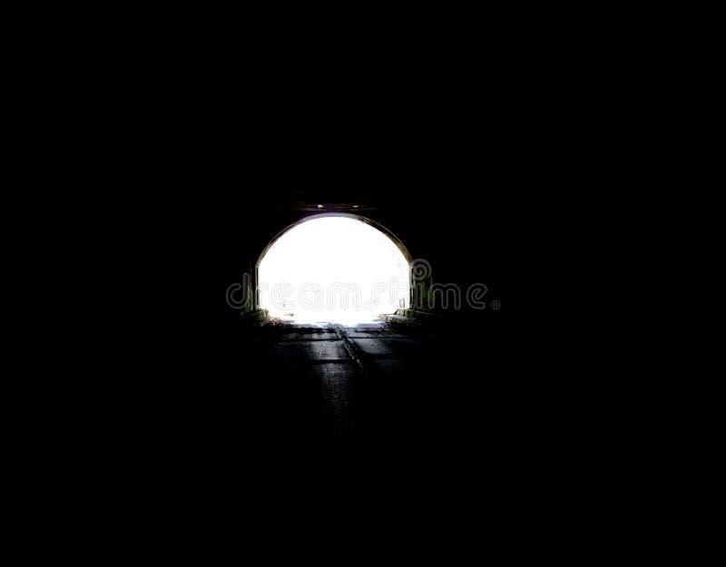 Licht aan het eind van tunnel 1 royalty-vrije stock foto's