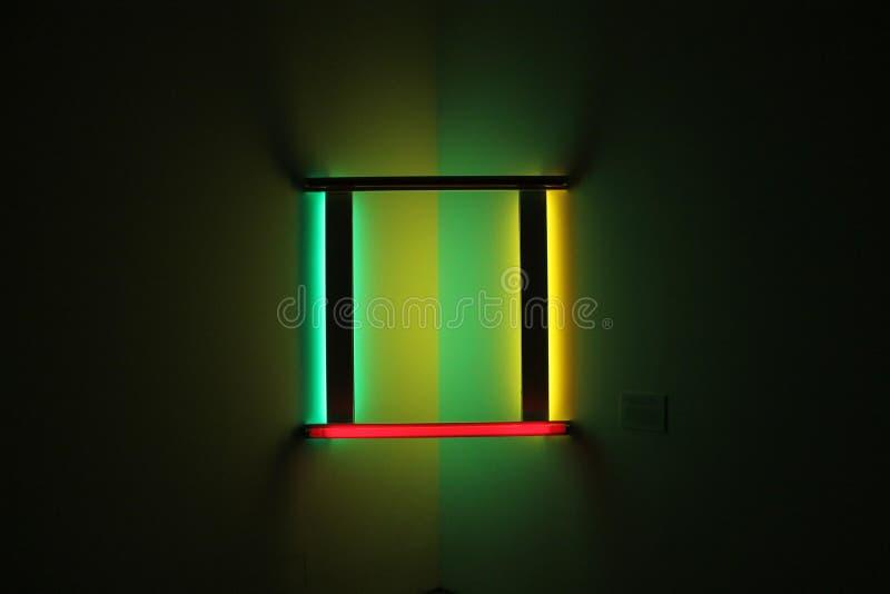Licht art stock foto's