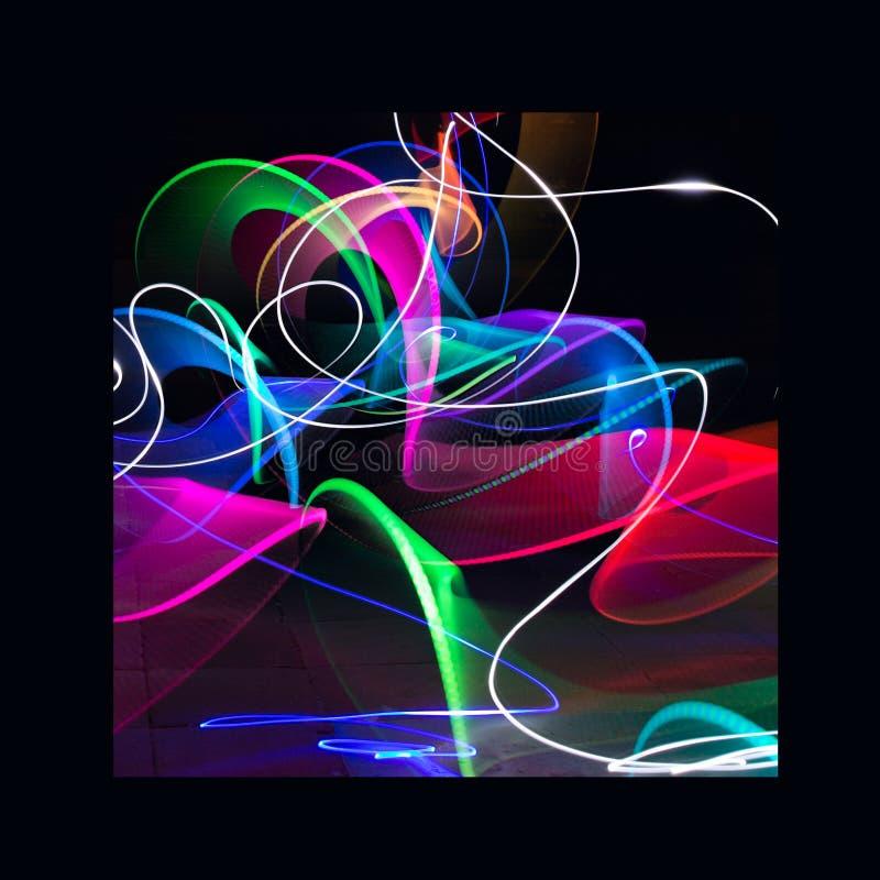 Licht Art Painting royalty-vrije stock afbeeldingen
