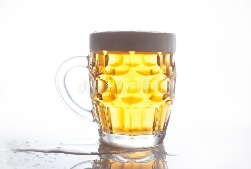 Licht bier royalty-vrije stock afbeelding