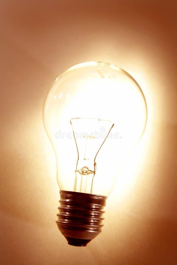 Licht-bol royalty-vrije stock foto