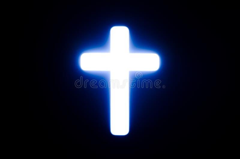Licht des Kreuzes. lizenzfreie stockfotografie