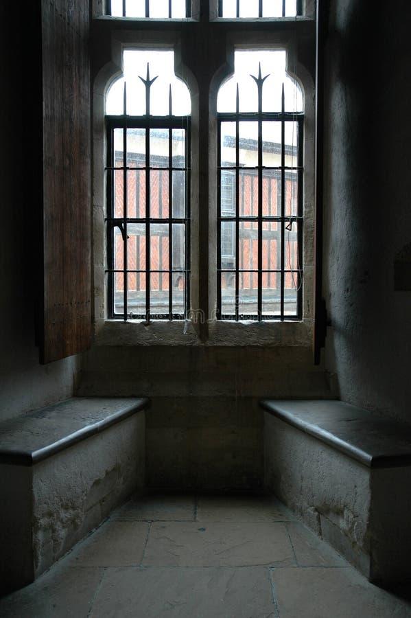 Licht door het venster royalty-vrije stock afbeelding