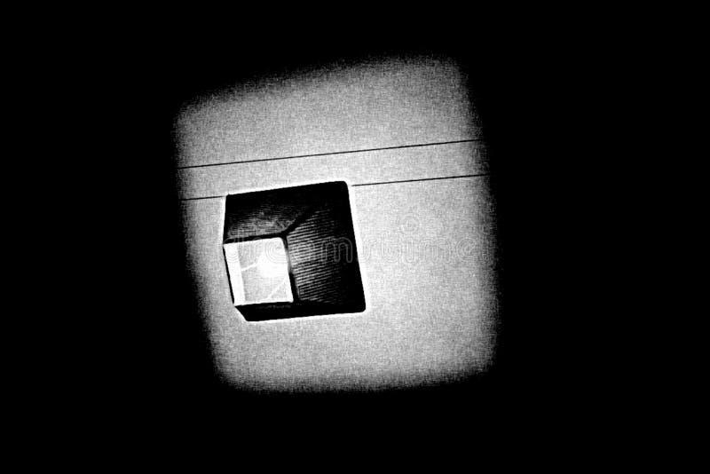 Licht durch zeichnende Kunst in Schwarzweiss stockbilder