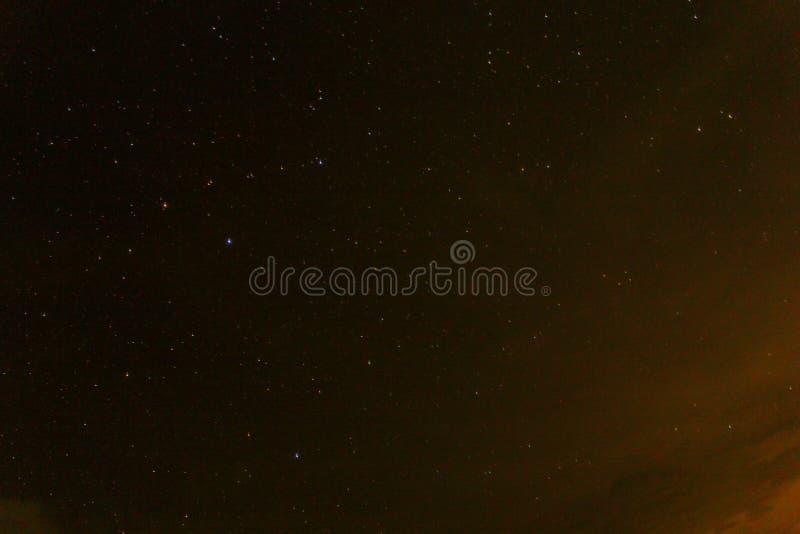 Licht en nacht stock foto's