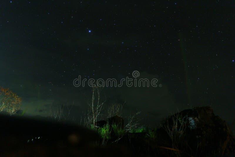 Licht en nacht royalty-vrije stock afbeelding