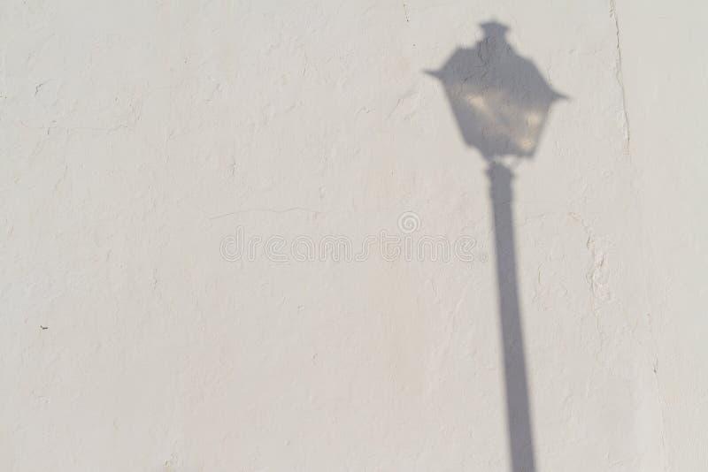 Licht en Schaduw op Gipspleister royalty-vrije stock afbeeldingen