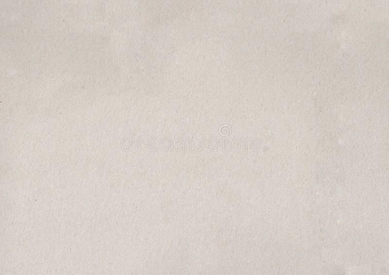 Licht gekleurde kraftpapier-document textuur stock afbeeldingen