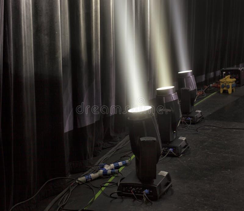 Licht in het theater royalty-vrije stock foto