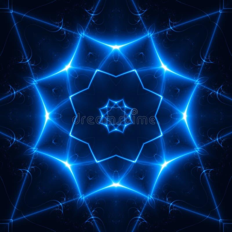 Licht Juweel. fractal02x5 royalty-vrije illustratie