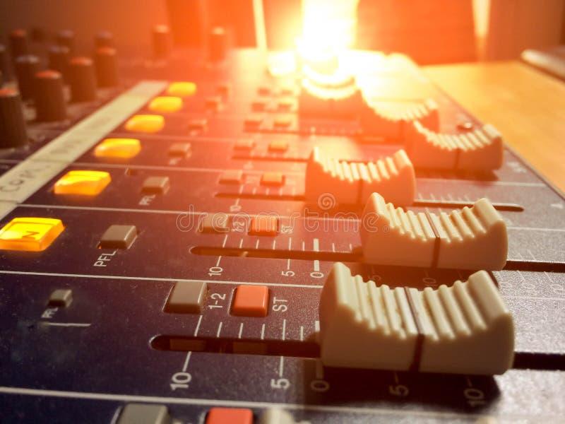 Licht, kleur, stem van dromen stock foto