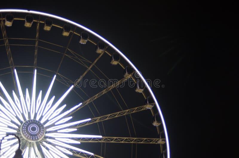 Licht marktenwiel stock foto's