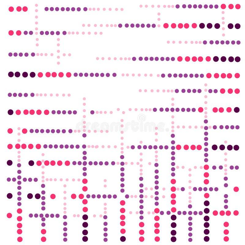 Licht Mehrfarben, moderner geometrischer Kreis des Regenbogenvektors lizenzfreie abbildung