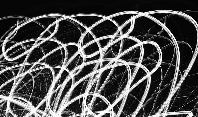 Licht in motie. royalty-vrije stock foto's