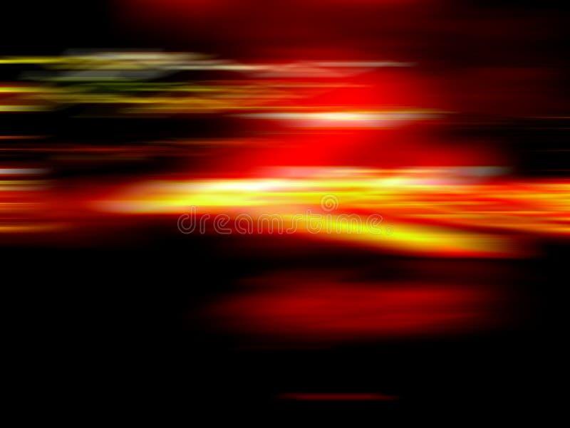 Licht in motie stock afbeeldingen