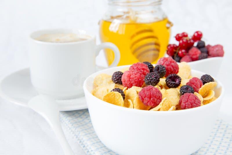 Licht ontbijt royalty-vrije stock afbeelding