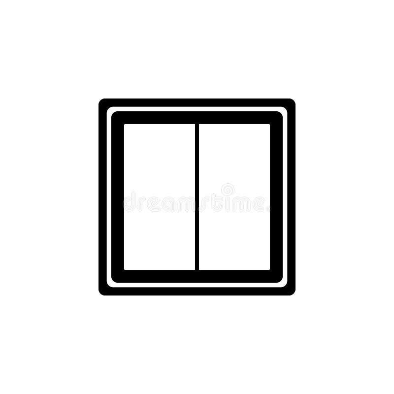 Licht schakelaarpictogram royalty-vrije illustratie