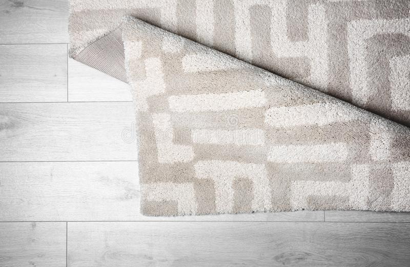Licht tapijt met patroon stock foto's