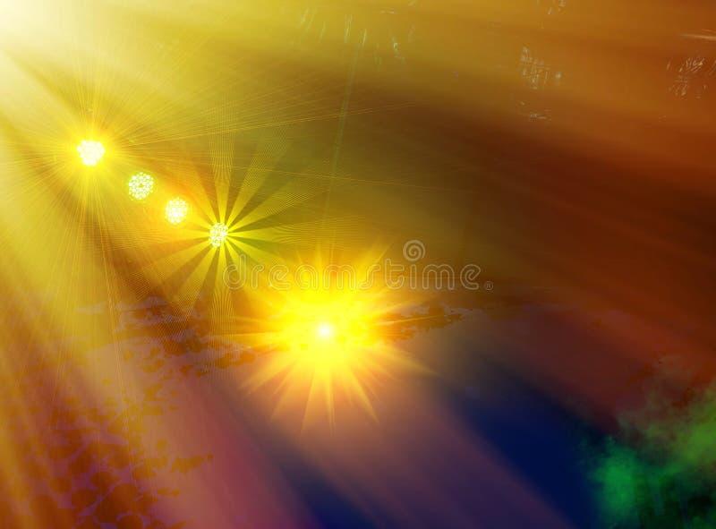 Licht toon royalty-vrije stock fotografie