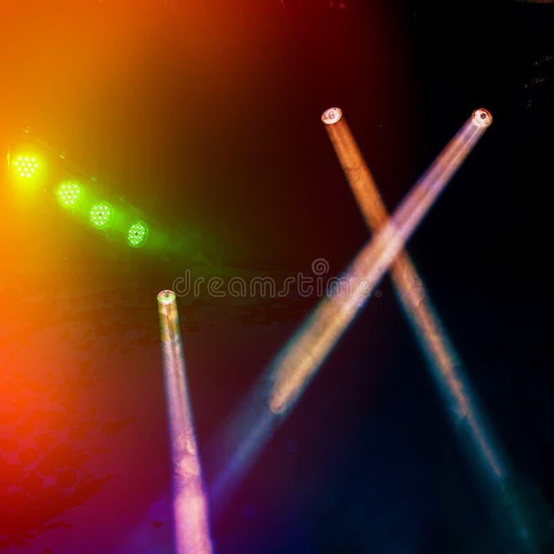 Licht toon royalty-vrije stock afbeeldingen