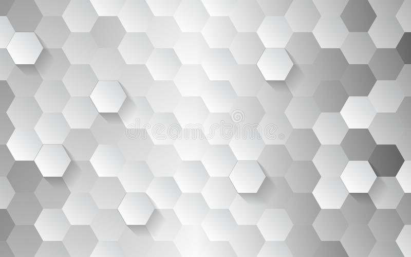 Licht und Schatteneffekt Geometrisches Design der Technologie vektor abbildung