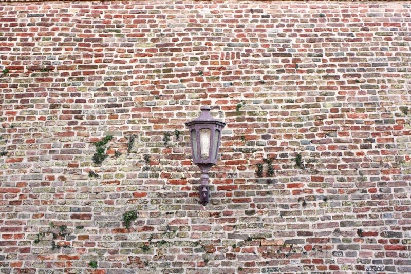 Licht und Ziegelstein stockfotografie