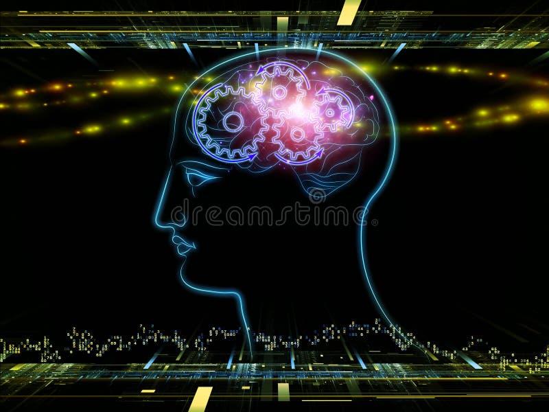 Licht van bewustzijn stock foto