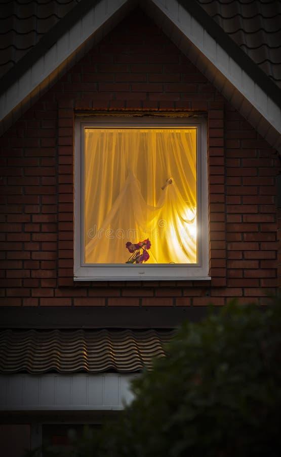 Licht van het venster stock afbeeldingen