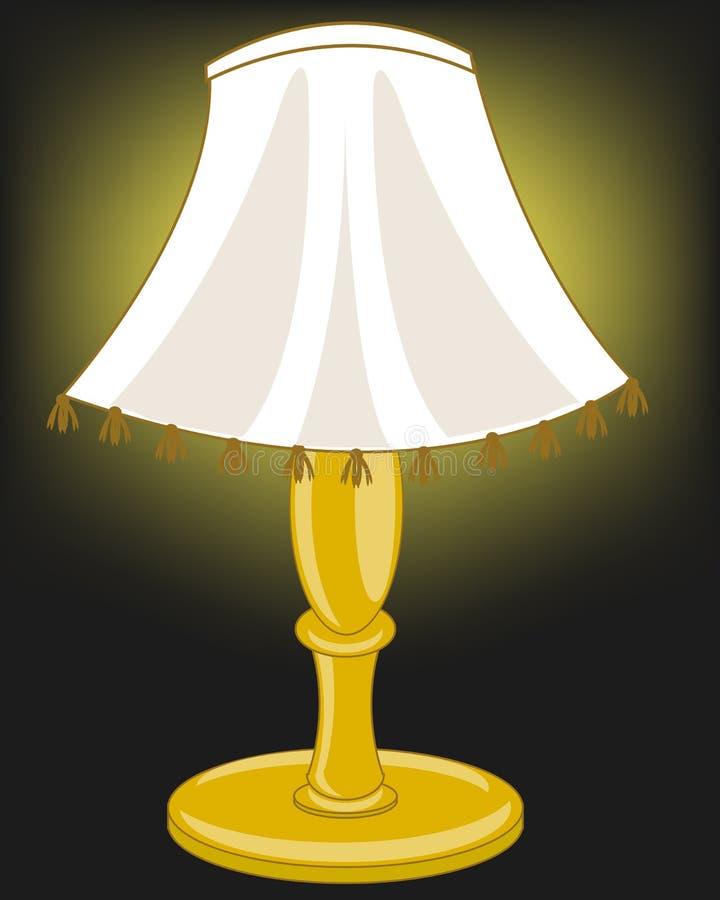 Licht van lamp vector illustratie