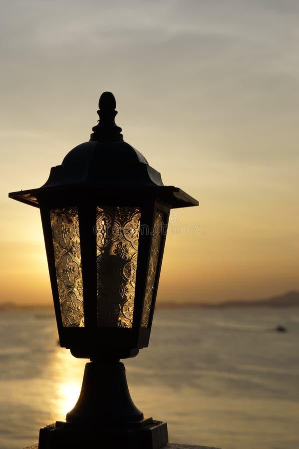 Licht van lamp Thailand royalty-vrije stock afbeeldingen