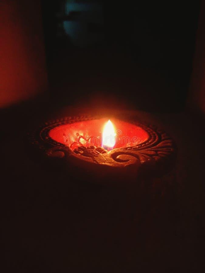 Licht van waarheid De lamp van de nacht stock afbeeldingen