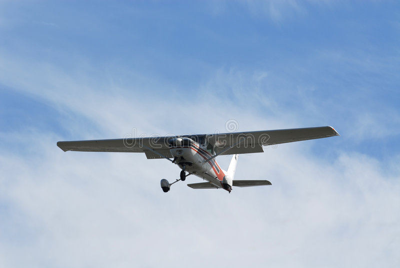 Licht vliegtuig royalty-vrije stock afbeelding