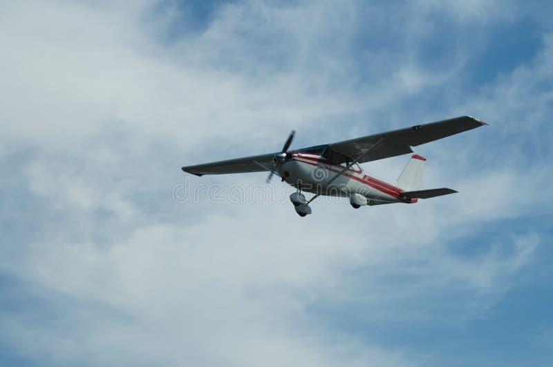 Licht vliegtuig stock illustratie