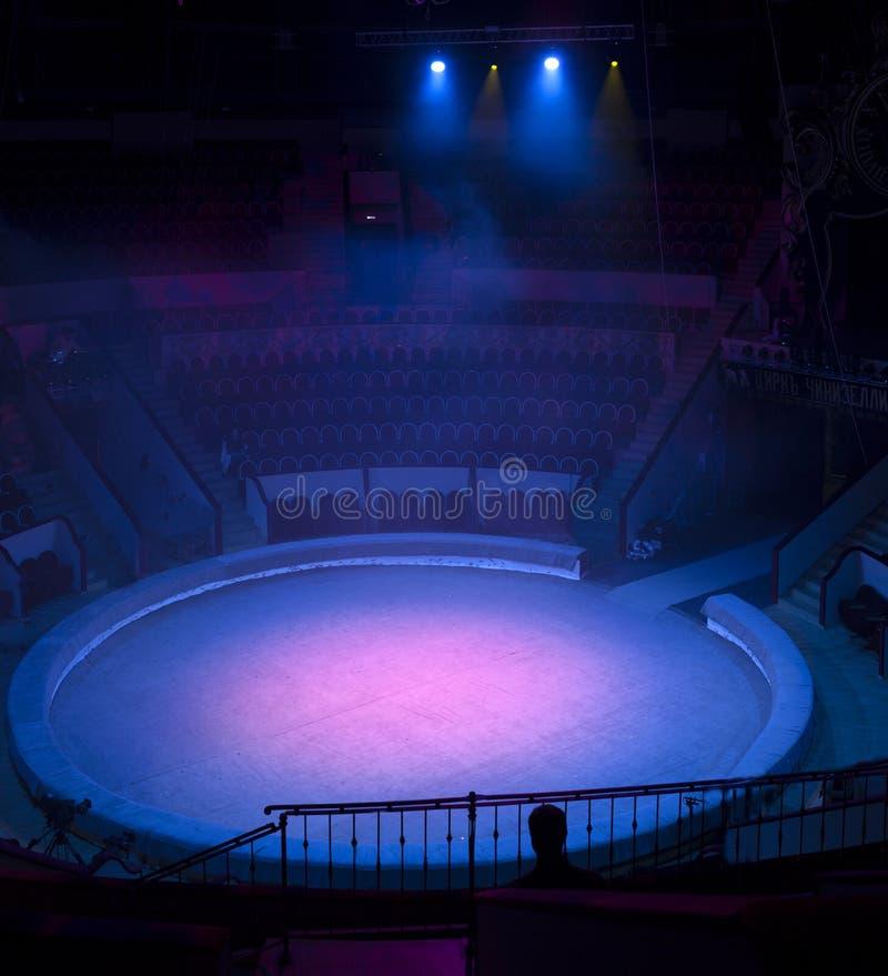 Licht von der Szene während des Konzerts stockfoto