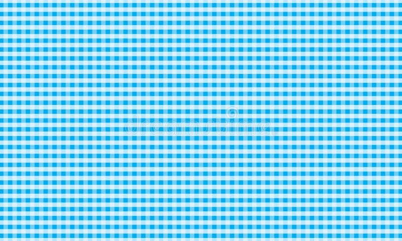 Lichtblauw en wit gingangpatroon teblechloth Vector illustratie vector illustratie